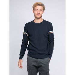 Vêtements Homme Pulls Ritchie Pull fin col rond LERMITE Bleu marine