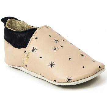 Chaussures Fille Chaussons Bobux Chaussons cuir beige