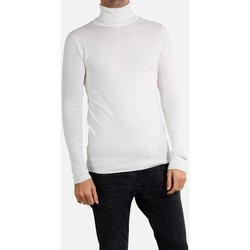 Vêtements Homme Pulls Kebello Pull manches longues col roulé Taille : H Blanc S Blanc