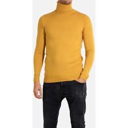 Vêtements Homme Pulls Kebello Pull manches longues col roulé Taille : H Jaune S Jaune