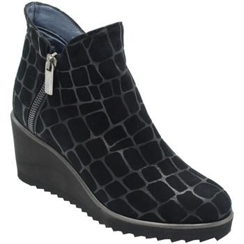 Chaussures Femme Bottines Angela Calzature ANSANGC798nr nero