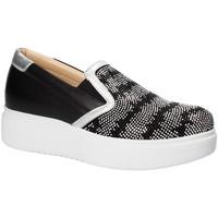 Chaussures Femme Slip ons Exton E02 Noir
