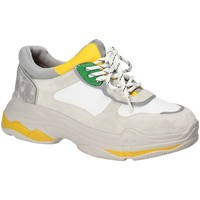 Chaussures Femme Baskets basses Gold&gold B18 GT528 Gris