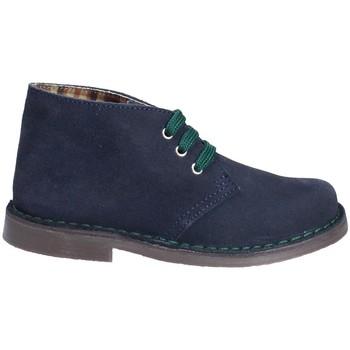 Chaussures Enfant Boots Grunland PO0577 Bleu