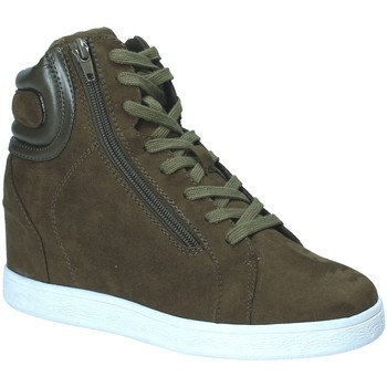 Chaussures Femme Baskets montantes Fornarina PI18EL1147S034 Vert