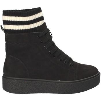 Chaussures Femme Baskets montantes Fornarina PI18HR1128S000 Noir