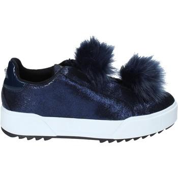 Chaussures Femme Slip ons Apepazza HYB04 Bleu