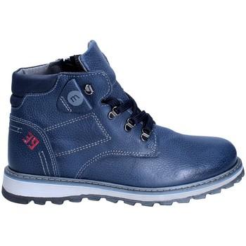 Chaussures Garçon Boots Melania ME6029F8I.B Bleu