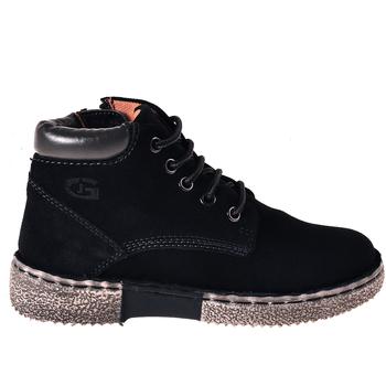 Chaussures Enfant Boots Grunland PO1396 Bleu