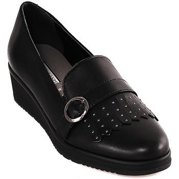 Chaussures Femme Mocassins Grunland SC3141 Noir