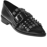 Chaussures Femme Mocassins Elvio Zanon I7704G Noir