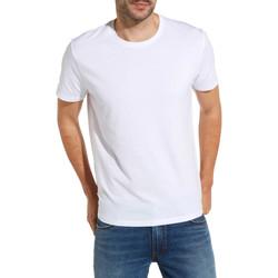 Vêtements Homme T-shirts manches courtes Wrangler W7500F Blanc