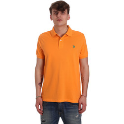 Vêtements Homme Polos manches courtes U.S Polo Assn. 55957 41029 Orange