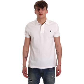Vêtements Homme Polos manches courtes U.S Polo Assn. 55957 41029 Blanc