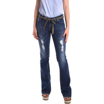 Vêtements Femme Jeans boyfriend Fornarina BER1I98D834CE Bleu