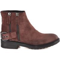 Chaussures Femme Bottines Mally 6324 Marron