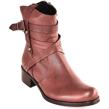 Chaussures Femme Bottines Mally 6431 Marron