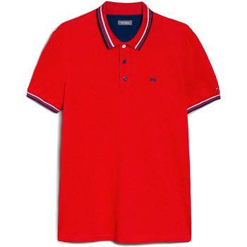 Vêtements Homme Polos manches courtes NeroGiardini E072390U Rouge