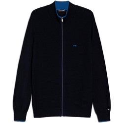 Vêtements Homme Gilets / Cardigans NeroGiardini E074560U Bleu