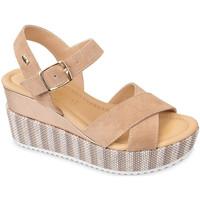 Chaussures Femme Sandales et Nu-pieds Valleverde 32435 Beige