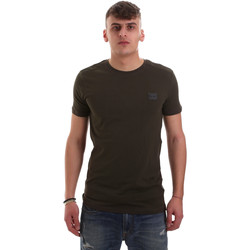 Vêtements Homme T-shirts manches courtes Antony Morato MMKS01417 FA120001 Vert