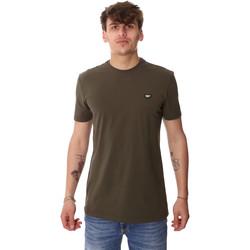 Vêtements Homme T-shirts manches courtes Antony Morato MMKS01737 FA120022 Vert