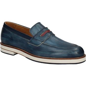 Chaussures Homme Mocassins Exton 605 Bleu