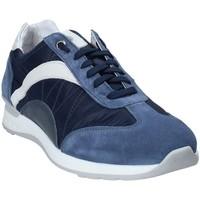 Chaussures Homme Baskets basses Exton 661 Bleu