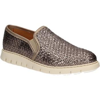 Chaussures Femme Slip ons Maritan G 160760 Argent