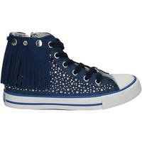 Chaussures Enfant Baskets montantes Lulu LV010074T Bleu