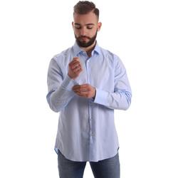 Vêtements Homme Chemises manches longues Gmf 962111/21 Bleu