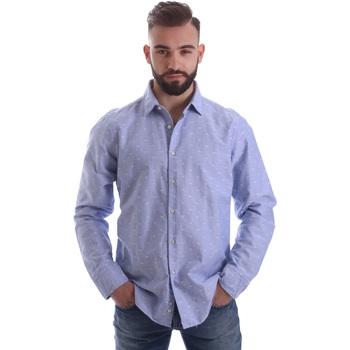 Vêtements Homme Chemises manches longues Gmf 962118/03 Bleu