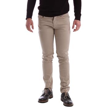 Vêtements Homme Pantalons 5 poches Sei3sei 02396 Beige