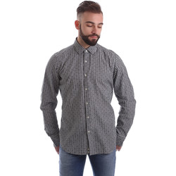 Vêtements Homme Chemises manches longues Gmf 962169/04 Noir