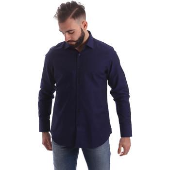 Vêtements Homme Chemises manches longues Gmf 962103/05 Bleu