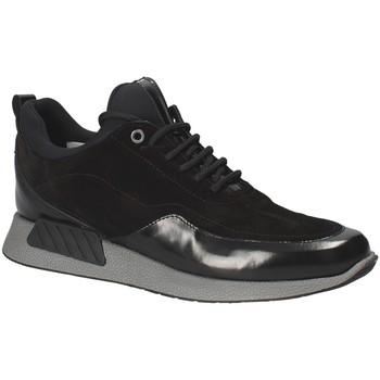 Chaussures Homme Baskets basses Exton 162 Noir