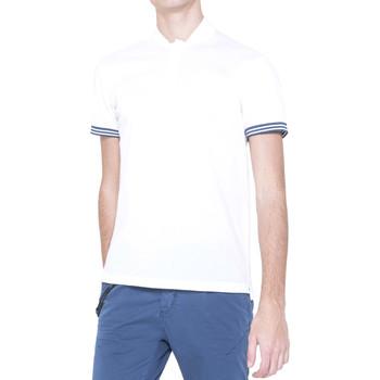 Vêtements Homme Polos manches courtes Antony Morato MMKS00999 FA100083 Blanc