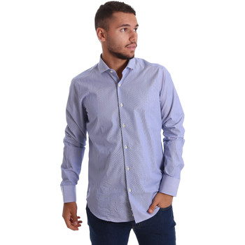 Vêtements Homme Chemises manches longues Gmf 971263/01 Bleu