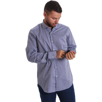 Vêtements Homme Chemises manches longues Gmf 971134/05 Bleu