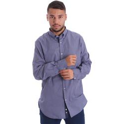 Vêtements Homme Chemises manches longues Navigare N691010BD Bleu