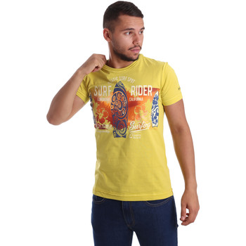 Vêtements Homme T-shirts manches courtes Navigare N631017 Jaune