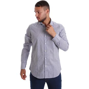 Vêtements Homme Chemises manches longues Gmf 971184/02 Bleu