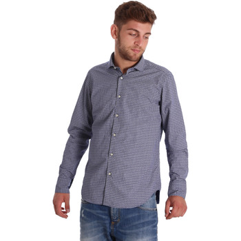 Vêtements Homme Chemises manches longues Gmf 971192/03 Bleu