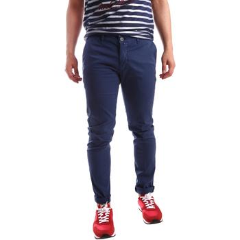 Vêtements Homme Chinos / Carrots Sei3sei PZV21 7183 Bleu