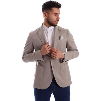 Vêtements Homme Vestes / Blazers Sei3sei PZG8 7149 Gris