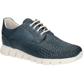 Chaussures Homme Baskets basses Exton 338 Bleu