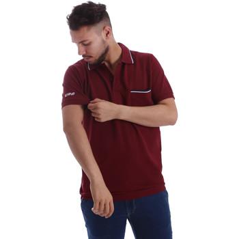 Vêtements Homme Polos manches courtes Key Up 2827Q 0001 Rouge