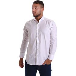 Vêtements Homme Chemises manches longues Gmf 971103/01 Blanc