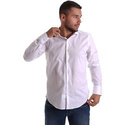 Vêtements Homme Chemises manches longues Gmf 971250/01 Blanc