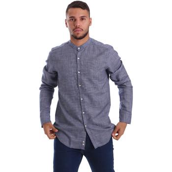 Vêtements Homme Chemises manches longues Gmf 971139/13 Bleu